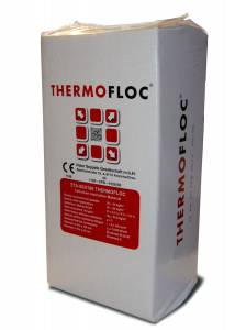 Isolation naturelle en ouate de cellulose Thermofloc 14Kg